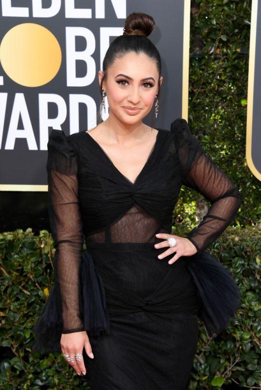 FRANCIA RAISA at 2019 Golden Globe Awards in Beverly Hills 01/06/2019