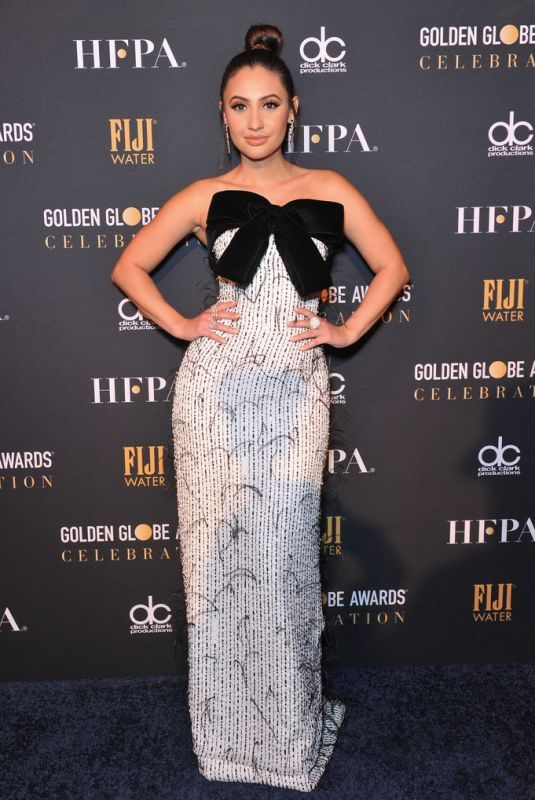 FRANCIA RAISA at Golden Globe Awards Offivial After Party in Beverly Hills 01/06/2019