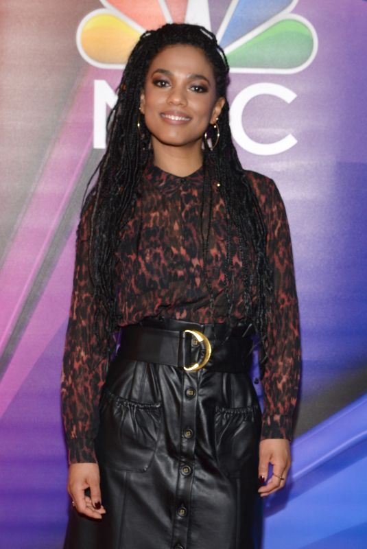 FREEMA AGYEMAN at NBC New York Mid Season Press Junket in New York 01/24/2019