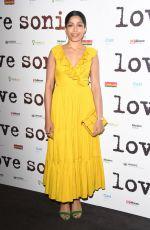 FREIDA PINTO at Love Sonia Premiere in London 01/23/2019