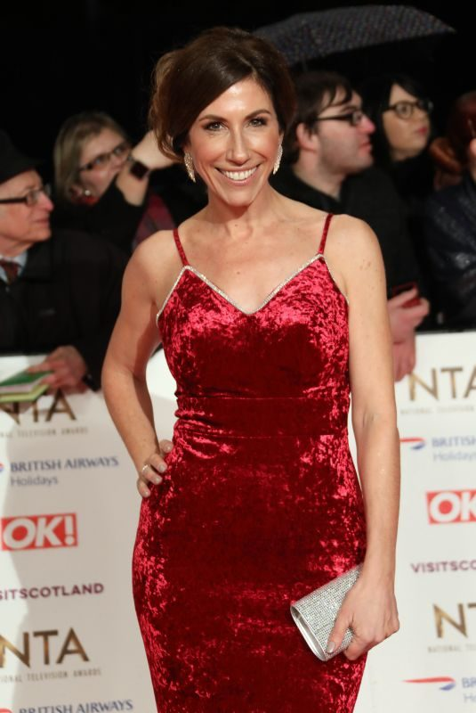 GAYNOR FAYE at 2019 National Televison Awards in London 01/22/2019