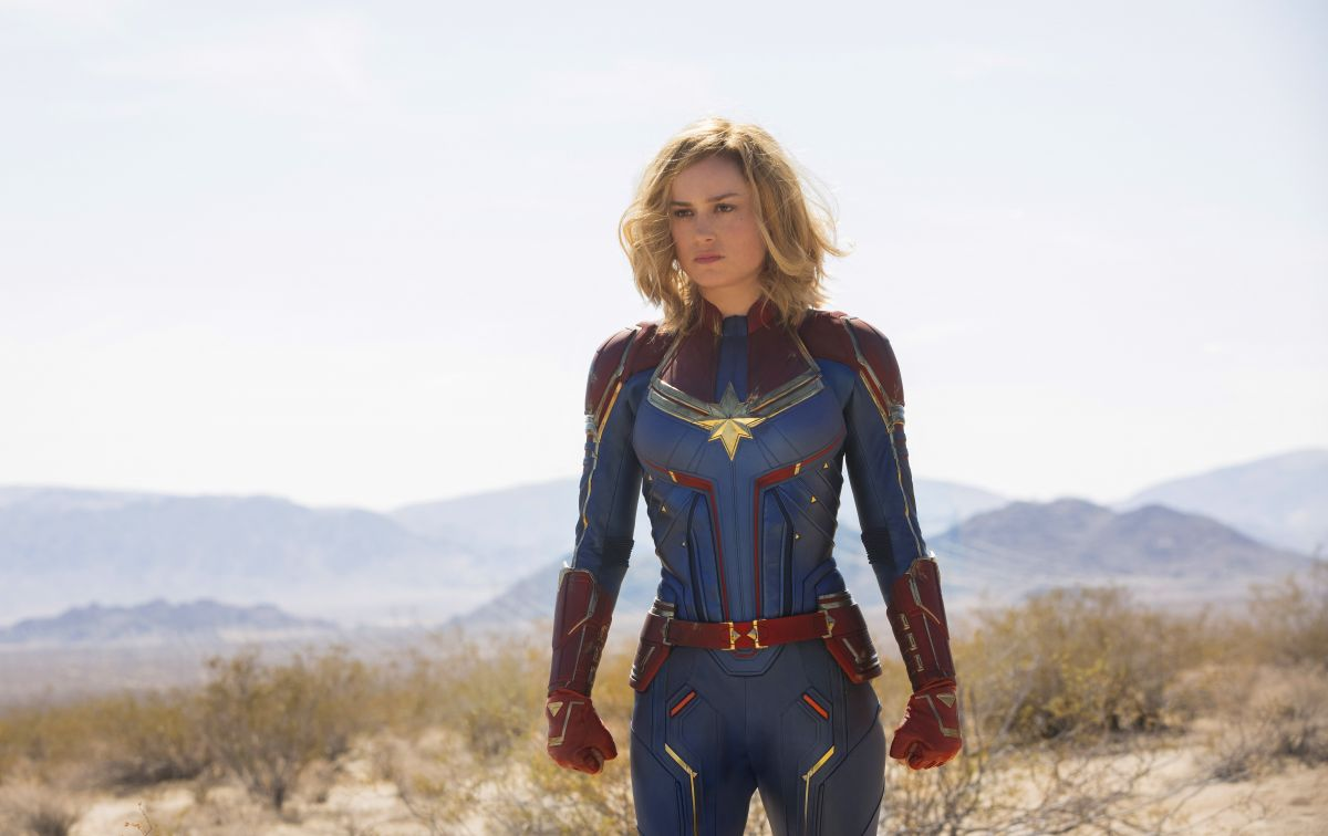 gemma chan and brie larson  u2013 captain marvel posters  stills and trailers