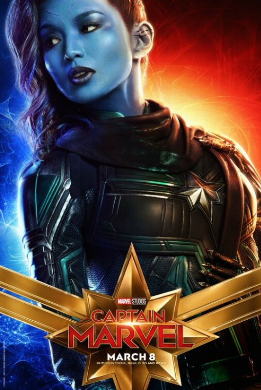 GEMMA CHAN - Captain Marvel  Poster