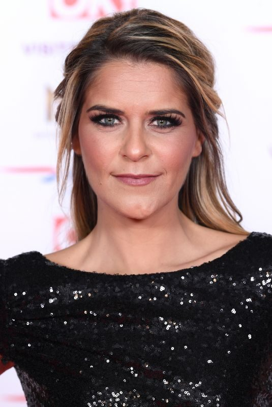 GEMMA OATEN at 2019 National Televison Awards in London 01/22/2019