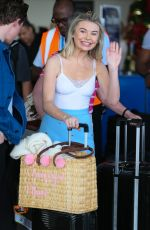 GEORGIA TOFFOLO Arrives at Airport in Barbados 01/05/2019