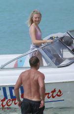 GEORGIA TOFFOLO in Bikini Top on Vacation in Barbados 01/08/2019