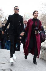 GEORGINA RODRIGUEZ and Cristiano Ronaldo at Court in Madrid 01/22/2019