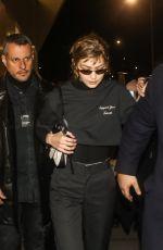 GIGI HADID Arrives at Prada Fashion Show in Milan 01/13/2019