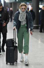 GIGI HADID at Malpensa Airport in Milan 01/12/2019