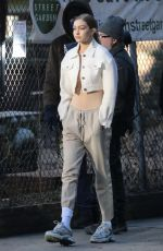 GIGI HADID on the Set of a Photoshoot in New York 01/11/2019