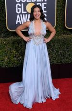 GINA RODRIGUEZ at 2019 Golden Globe Awards in Beverly Hills 01/06/2019