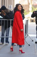 GINA RODRIGUEZ at The View in New York 01/22/2019