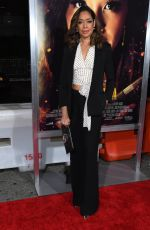 GINA TORRES at Miss Bala Premiere in Los Angeles 01/30/2019