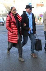 GINA TORRES Out at Sundance Film Festival in Park City 01/27/2019