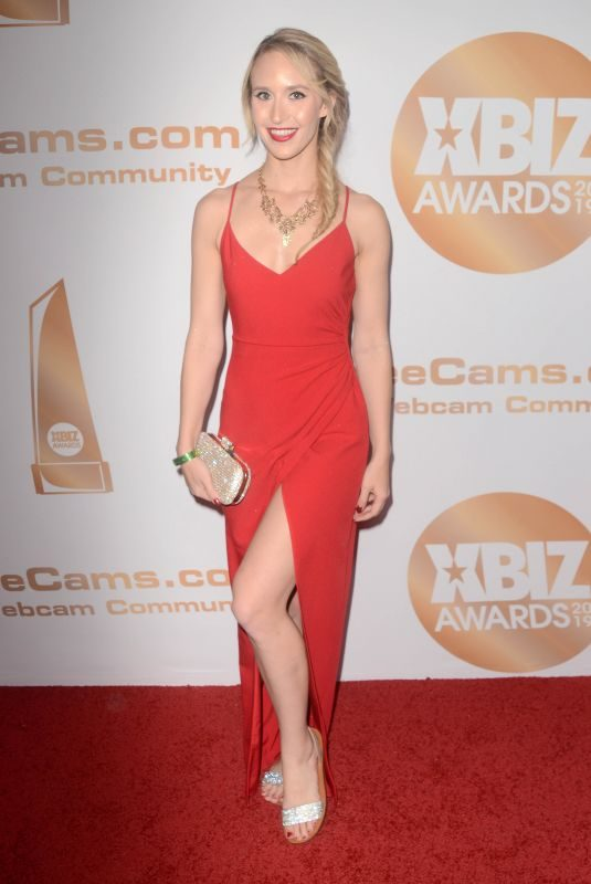 GINGER BANKS at 2019 Xbiz Awards in Los Angeles 01/17/2019