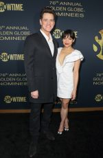 GINGER GONZAGA at Showtime 2019 Golden Globes Nominees Celebration in West Hollywood 01/05/2019