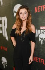 GIORGIA WHIGAM at The Punisher, Season 2 Premiere in Los Angeles 01/14/2019