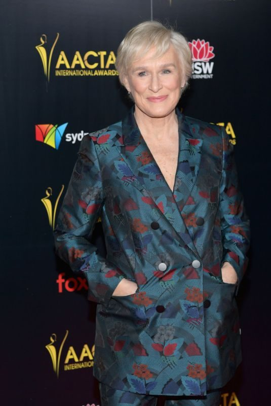 GLEN CLOSE at 2019 Aacta International Awards in Los Angeles 01/04/2019