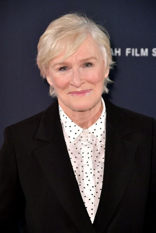 GLEN CLOSE at An Artist at the Table: Dinner and Program at Sundance Film Festival 01/24/2019