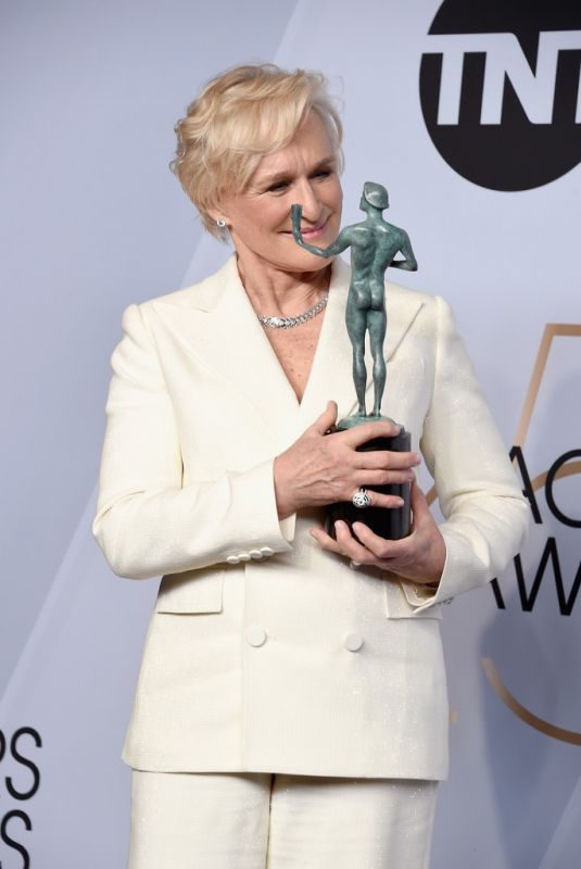GLENN CLOSE at Screen Actors Guild Awards 2019 in Los Angeles 01/27/2019