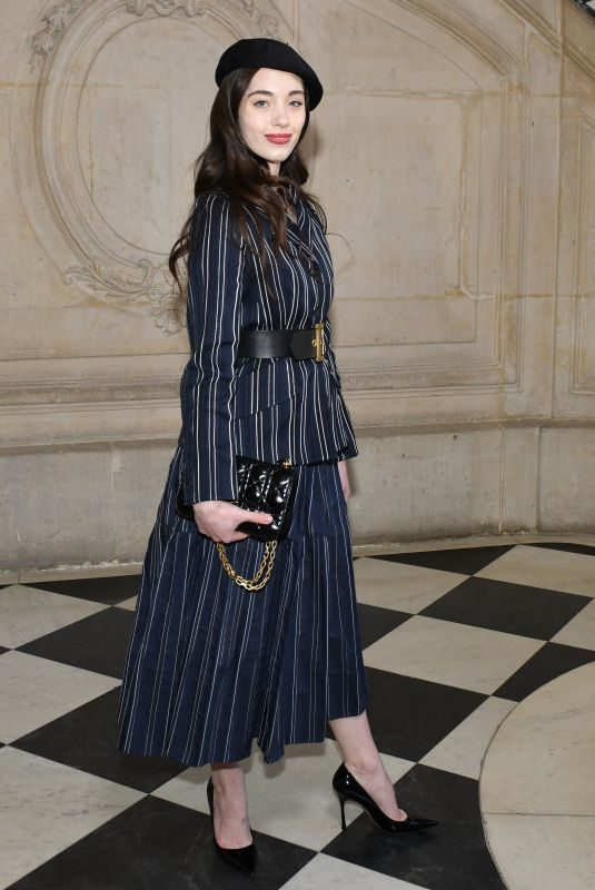 GRETA ELIZONDO at Christian Dior Show at Paris Fashion Week 01/21/2019