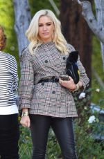 GWEN STEFANI Out and About in Los Angeles 01/27/2019