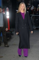 GWYNETH PALTROW Arrives at Good Morning America in New York 01/09/2019