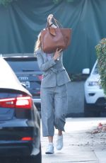 GWYNETH PALTROW Hiding Her Face Out in Brentwood 01/10/2019