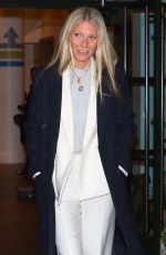 GWYNETH PALTROW Leaves Tonight Show Starring Jimmy Fallon in New York 01/09/2019