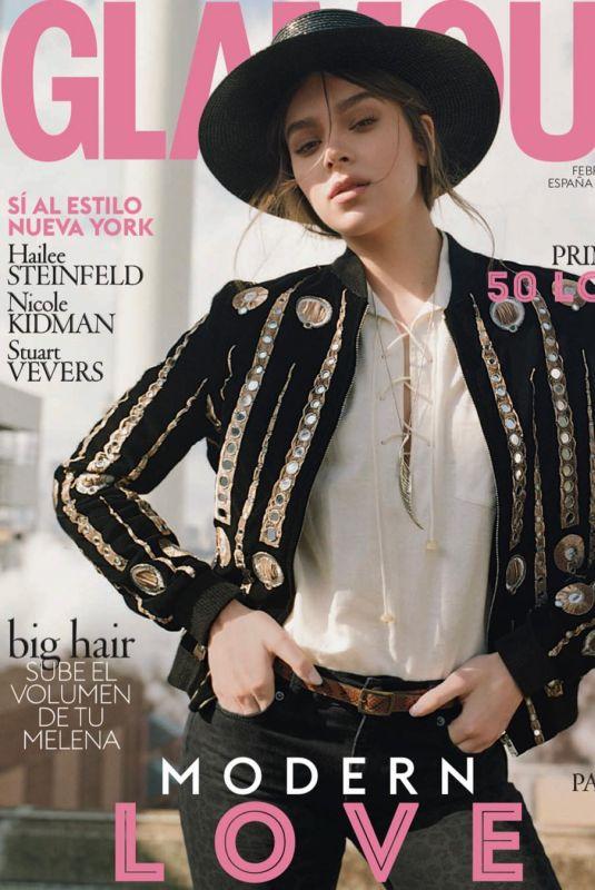 HAILEE STEINFELD for Glamour Magazine, Spain February 2019