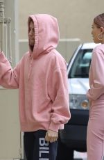 HAILEY and Justin BIEBER at West Medical Center in Encino 01/15/2019