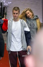 HAILEY and Justin BIEBER Leaves Their Hotel in Beverly Hills 01/07/2019