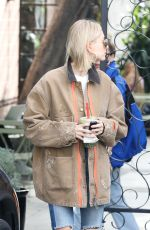 HAILEY BALDWIN Leaves a Salon in Los Angeles 01/22/2019