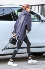 HAILEY BIEBER Arrives at a Gym in Los Angeles 01/19/2019