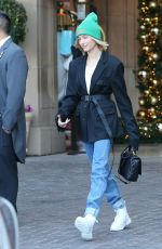 HAILEY BIEBER Leaves Montage Hotel in Beverly Hills 01/04/2019