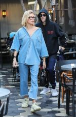 HAILEY BIEBER Out for Lunch in West Hollywood 01/09/2019