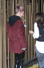 HAILEY BIEBER Out in Los Angeles 01/17/2019