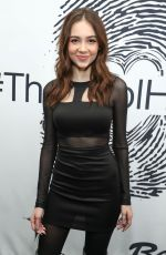 HALEY PULLOS at Cool HeART Gallery Launch in Los Angeles 01/17/2029