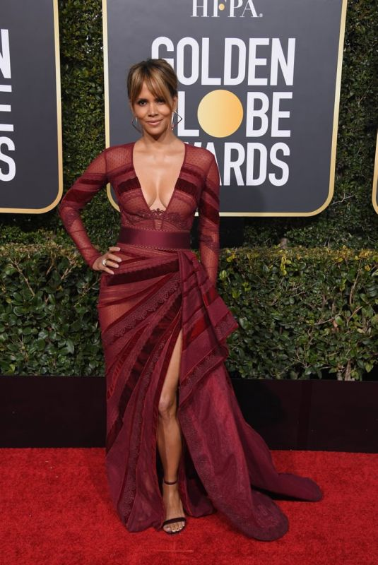 HALLE BERRY at 2019 Golden Globe Awards in Beverly Hills 01/06/2019