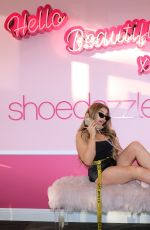 HANA GIRALDO at JustFab and Shoedazzle Event in Los Angeles 01/19/2019