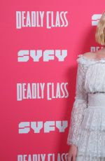 HARLEY QUINN SMITH at Deadly Class Premiere Week Screening in Los Angeles 01/14/2019