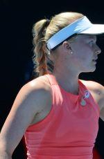 HARRIET DART at 2019 Australian Open at Melbourne Park 01/14/2019