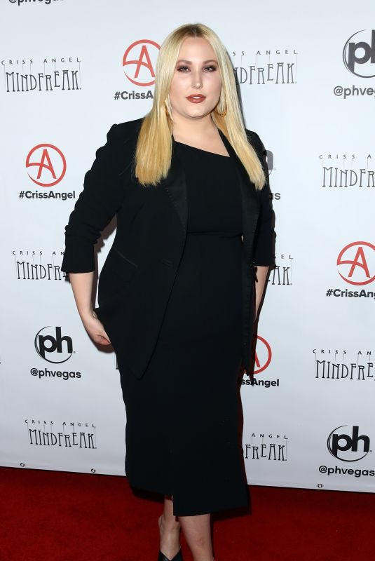 HAYLEY HASSELHOFF at Mindfreak Opening at Planet Hollywood in Las Vegas 01/19/2019