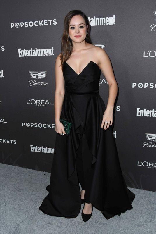 HAYLEY ORRANTIA at Entertainment Weekly Pre-sag Party in Los Angeles 01/26/2019