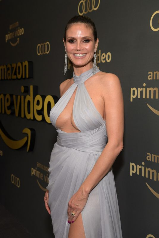 HEIDI KLUM at Amazon Prime Video Golden Globe Awards After Party in Beverly Hills 01/06/2019