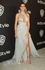 HEIDI KLUM at Instyle and Warner Bros Golden Globe Awards Afterparty in Beverly Hills 01/06/2019
