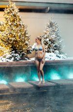 HEIDI MONTAG in Bikini at a Hot Pool in Aspen 01/09/2019