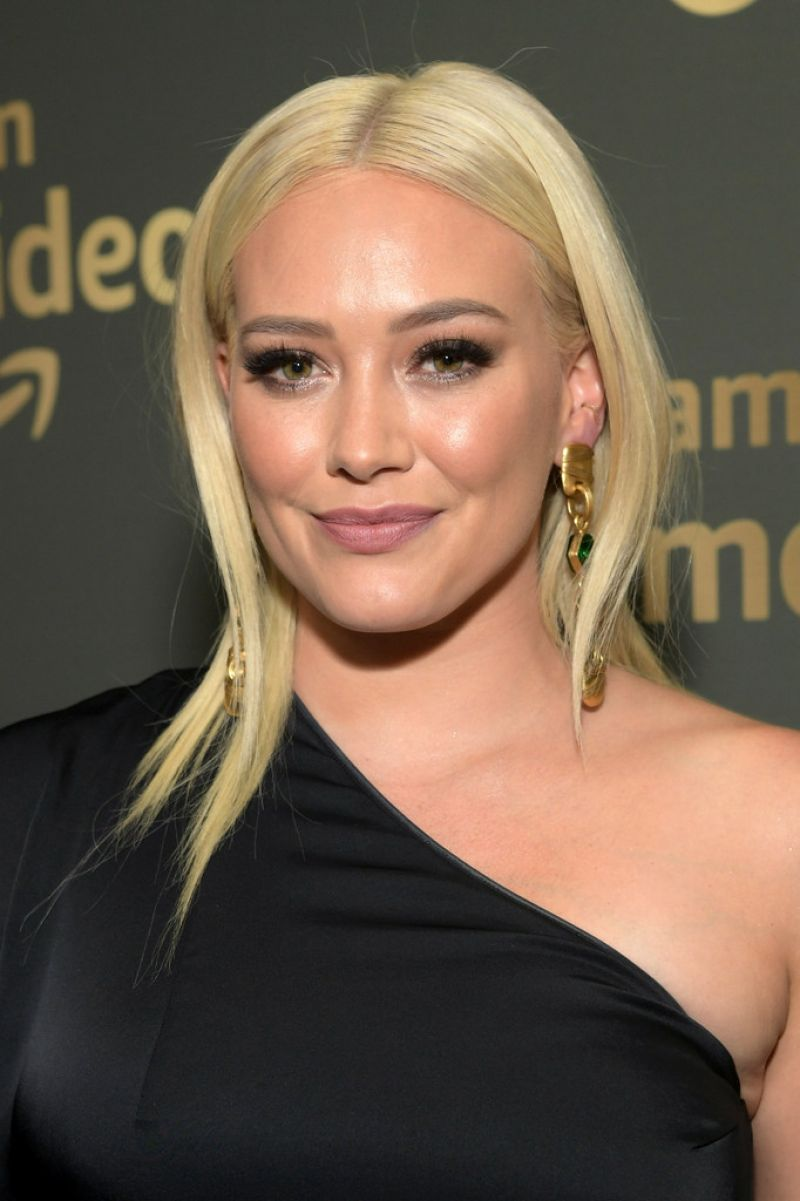 HILARY DUFF at HBO Golden Globe Awards Afterparty in ... Hilary Duff