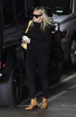 HILARY DUFF Out and About in Los Angeles 01/30/2019