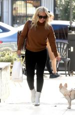 HILARY DUFF Out for Lunch at Joan